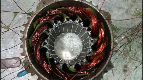 Motor Rewinding by Rewinding Of Three Phase Motor Part 2