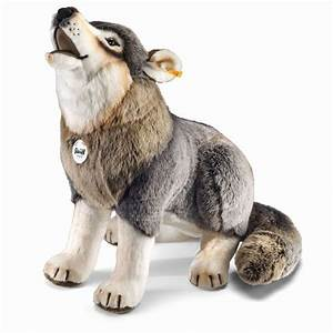 Stuffed Animal Wolf Lifesize 'R-Heulander' Steiff EAN 075759