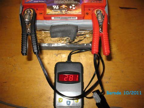 batterie kapazität messen batterie langsam alt twincam forum das harley forum