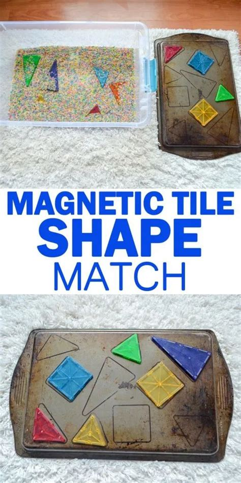 magna tiles shape match    images math