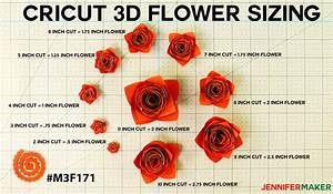 How To Make Cricut Paper Flowers  All 10