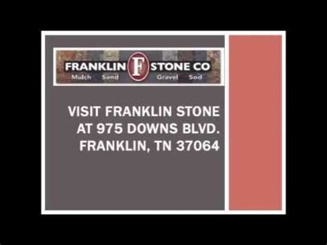 franklin landscaping supplies in nashville tn