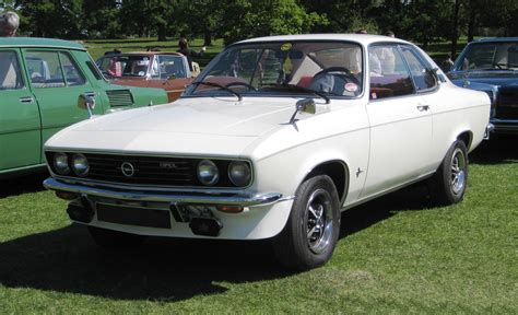 1972 Opel Manta by File 1972 Opel Manta A 1600 Front 3q Modified Jpg