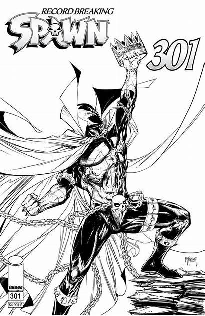 Spawn 301 Mcfarlane Covers Todd Variant Comic
