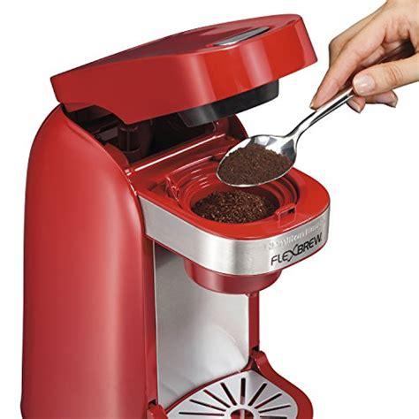 With a flexbrew® coffee maker in your kitchen, you'll enjoy maximum brewing flexibility. Coffee Consumers   Hamilton Beach Single-Serve Coffee ...