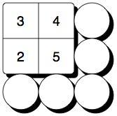 addition squares worksheets