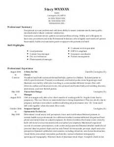 kentucky optometry resume exles find the best