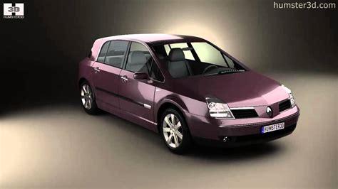 renault vel satis 2005 by 3d model store humster3d com