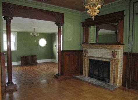 Queen Anne Fireplace by Haunted House Google Captures Image Of Ghosts In Mansion