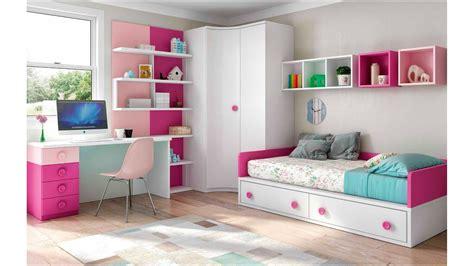 chambre entiere chambre enfant fille bicolore et pratique glicerio