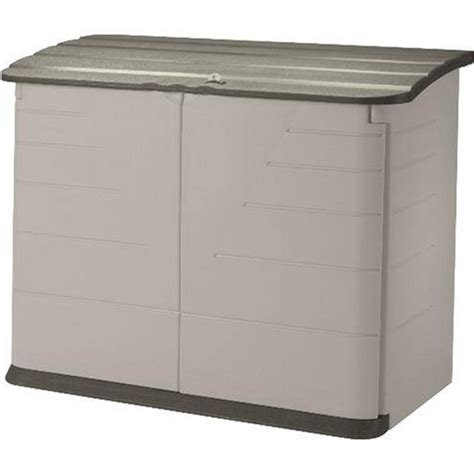 rubbermaid garbage shed rubbermaid horizontal storage shed review zacs garden