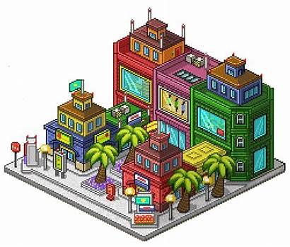 Square Pixel Round Season Tailor