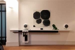 Meuble Haut Salon : meuble hifi haut de gamme ~ Teatrodelosmanantiales.com Idées de Décoration