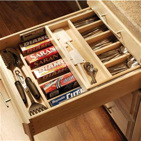 custom kitchen drawer organizers rev a shelf hafele knape vogt omega national products 6385