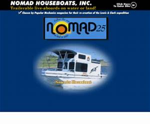 The Nomad 25 Trailerable Houseboat