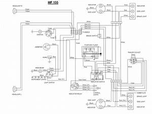 Massey Ferguson 165 Wiring Diagram