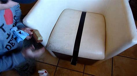 peinture cuir canapé raviver un canape en cuir 28 images salon canap 233