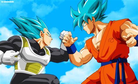 Super Saiyan Hd Wallpaper Anime Dragon Ball Super Goku Vegeta Fondo De Pantalla