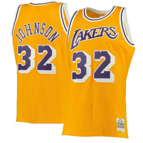 Shop la lakers apparel at dick's sporting goods. Men's Los Angeles Lakers Magic Johnson Mitchell & Ness ...