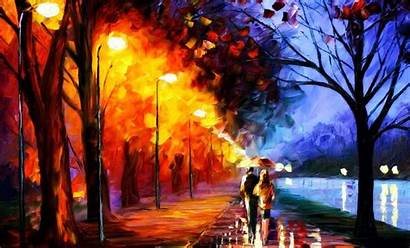 Oil Painting Paintings Background Wallpapers Fire Paint