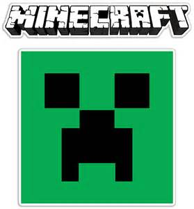 Minecraft Transparent Sticker