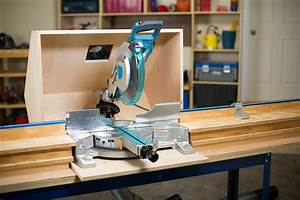 Miter Saw Dust Hood - buildsomething com