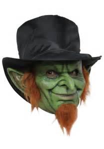 Mad Goblin Mask - Scary Leprechaun Mask