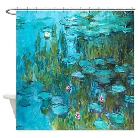 Water Lilies By Claude Monet Shower Curtain By Vink