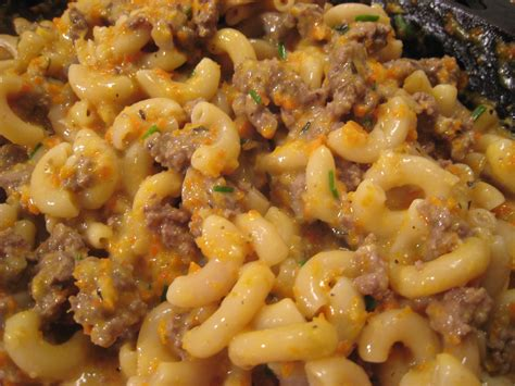 Homemade Hamburger Helper, Cheeseburger Macaroni