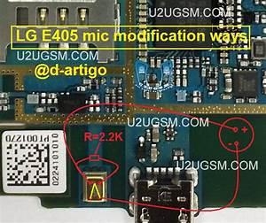 Lg E405 Mic Solution Jumper Ways Problem Solution