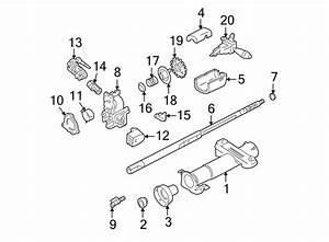 Pontiac Sunfire Steering Shaft  Cavalier  Sunfire  W  O