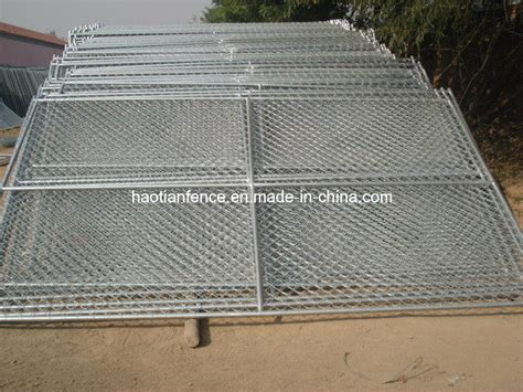 china ft  ft temporary chain link fence panels