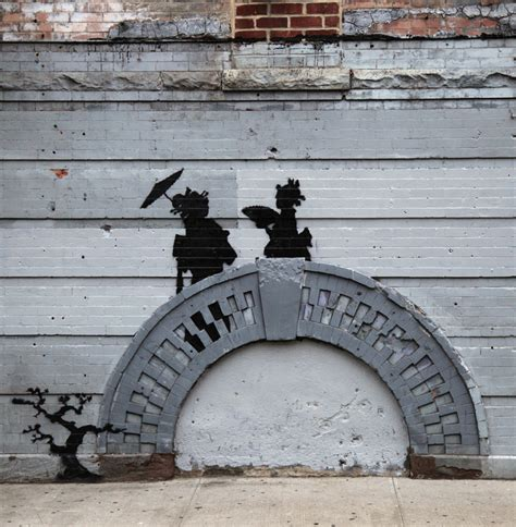 Bed Stuy Works by The Big Apple Banksy Bites Back The Heritage Trust