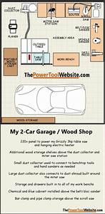 My 2-car Garage Woodshop Layout