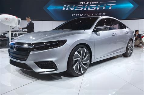 honda insight sleek hybrid prototypes specs detailed