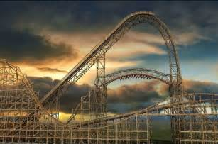 Goliath Roller Coaster Six Flags Great America