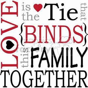 Royalty-Free love is the tie that binds this family ...