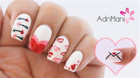 Los diseños de uñas acrilicas están de moda en estos días y con buena razón. 5 Diseños de uñas fáciles y bonitos para San Valentín - YouTube