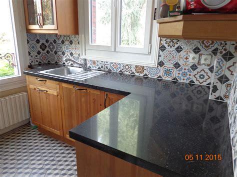 carreaux de ciment cr馘ence cuisine carrelage plan de travail cuisine cool deco plan travail carrelage cnegocecom with