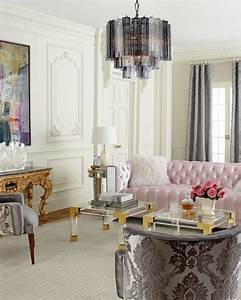 Mg, Decor, A, Manhattan, Glamour, Style, Living, Room