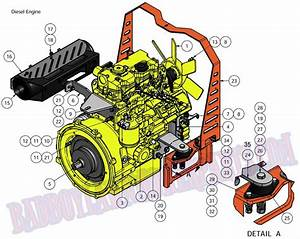 2011 Diesel Engine  28hp  Assembly