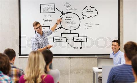 education high school planning  stock image