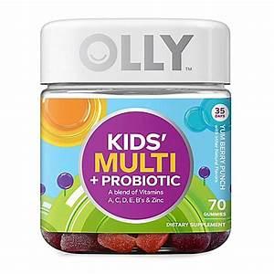 OLLY® 70-Count Kids' Multi + Probiotic Vitamin Gummies