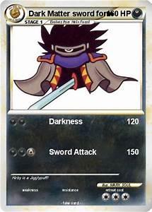 Pokémon Dark Matter sword form - Darkness - My Pokemon Card
