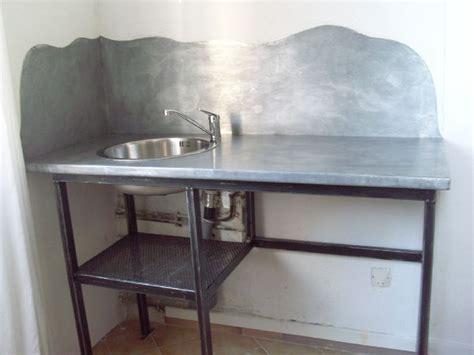 plan de travail en zinc pour cuisine recouvrement d 39 un bar en zinc le dire c 39 est bien le fer c 39 est mieux