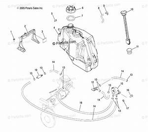 Polaris Atv 2006 Oem Parts Diagram For Fuel System   Ld27aa  Ab  Ac  Ad