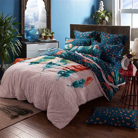 peacock feather comforter set sets king size ecfqinfo