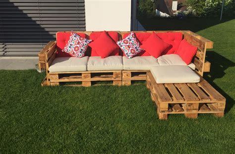 Lounge Möbel Paletten by Gartenlounge Aus Paletten Selber Bauen Heimwerkerking