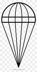 Parachute Drawing Clipartmag Coloring sketch template