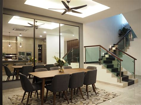 modern dining area design deco  styling  meridian